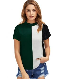 Exclusive Multicolor Designer Western T-shirt
