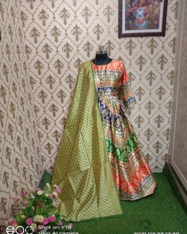 Fancy Designer Party Wear Dress With Dupatta