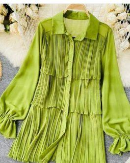 Trendy glamorous Long top