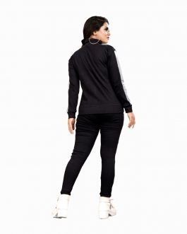 Rib Cotton Tracksuit