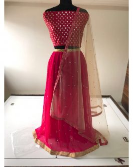 Beautiful Lehenga With Embroidered Sicavench