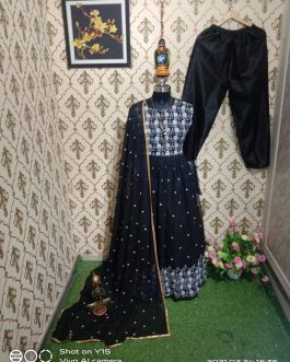 New Designer Embroidered Anarkali Dress