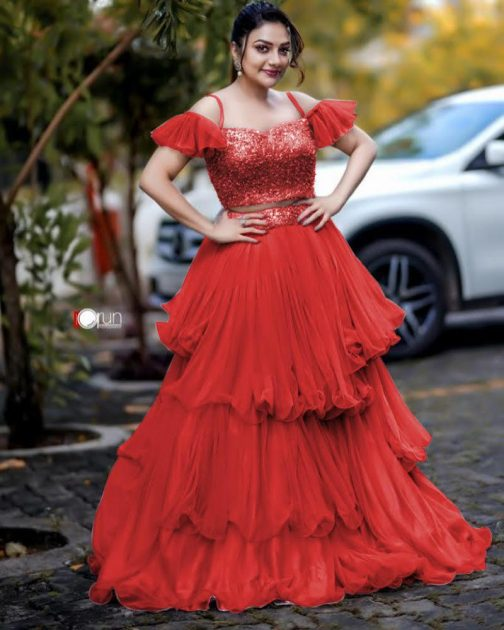 New Designer Raffle Lehenga Choli
