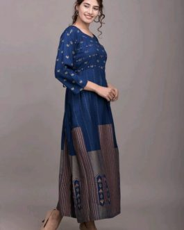New Beautiful Rayon Fabric Gown