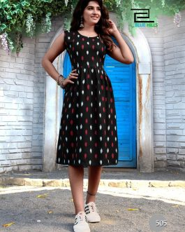 Beautiful Ikat Print Dress
